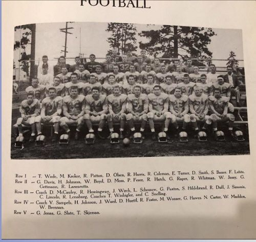 This image has an empty alt attribute; its file name is 1957-football-rotated.jpg